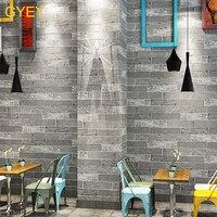 3D Stereo Simulation Brick Brick Culture Brick Wallpaper Retro Nostalgia Restaurant Clothing Store Barber Shop Brick Wallpaper