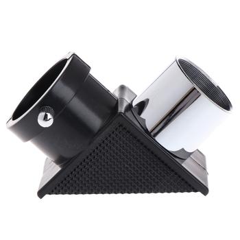Teleskop lustro wznoszenie 1 25 #8222 90 stopni Zenith przekątna Adapter pozytywny pryzmat optyczny okular astronomiczny akcesoria tanie i dobre opinie OOTDTY CN (pochodzenie) Handheld 20202020 Brak