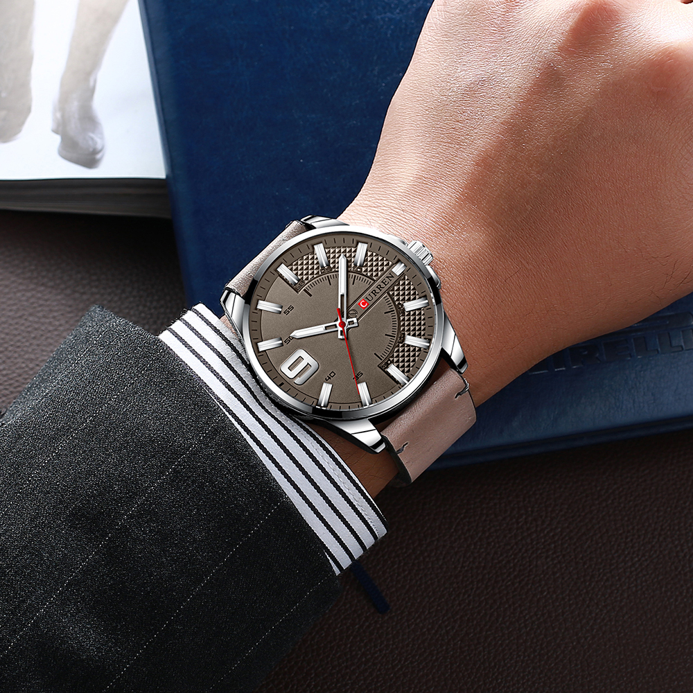 He1fad99d55b54b36b48f054bf9e69699V Top Brand Luxury Business Watch Men CURREN Watches