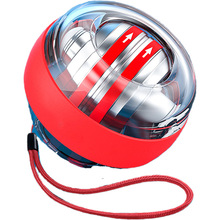 2021 LED Arm Hand Muscle Force Trainer Fitness Equipment Gyroscopic Powerball Autostart Range Gyro Power Wrist Ball With Counter