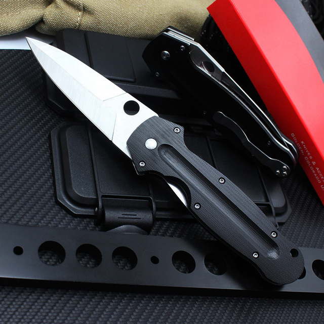 TUNAFIRE C215 Folding Knife G10 Handle CPM S30V Blade Tactical Survival Knives Outdoor Camping Hunting Knife Multi EDC Tools 2
