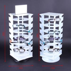 Image 5 - Rotating Sunglasses Holder Rack Glasses Display Stand, Holds 28 Pairs Glasses