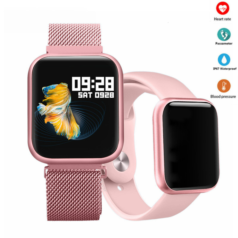2019 T80 <font><b>smart</b></font> <font><b>watch</b></font> mit Full touch screen <font><b>IP68</b></font> Wasserdichte smartwatch für männer frauen Herz Rate Monitor für xiaomi & Apple image