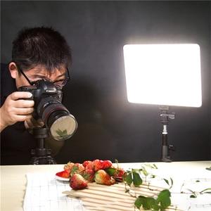 "Image 5 - VILROX 3/2pcs VL 200T דו צבע Dimmable אלחוטי מרחוק LED וידאו אור פנל תאורת ערכת + 75 ""אור Stand עבור סטודיו ירי"