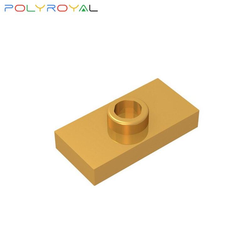 Строительные блоки, аксессуары «сделай сам», пластмассовые технические детали, 1x2 основа, 10 шт., MOC, развивающая игрушка для детей, 15573, 3794