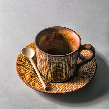 Taza De café Vintage para exteriores, taza De café De viaje De...