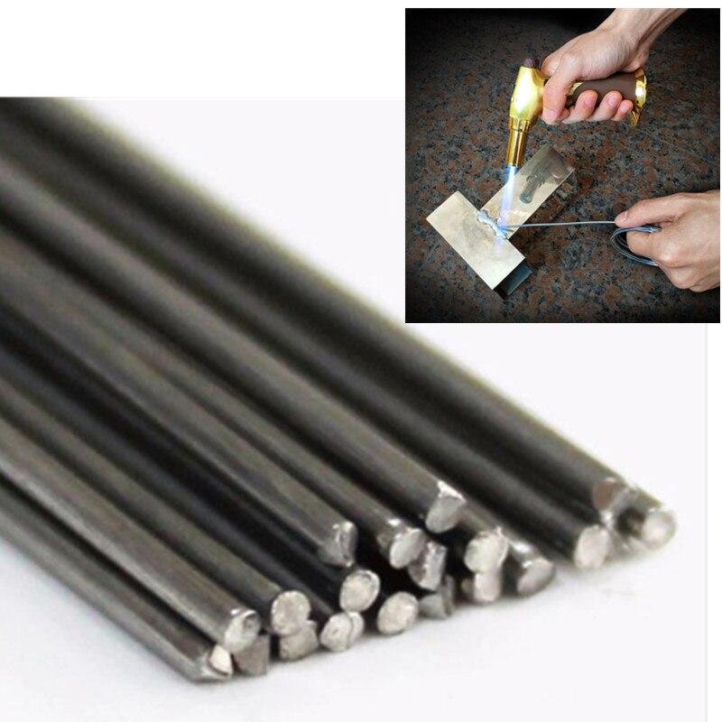 Alambre de aluminio con núcleo Magnesia Alambre de varilla de soldadura de aluminio de baja temperatura 500x2,0mm 19,68x0.079