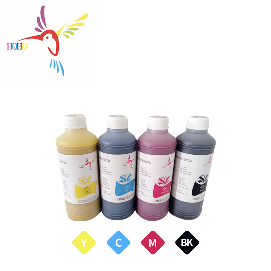 HQHQ 500ml Pigment ink Bulk ink Use for EPSON 945//902/948/973 pigment ink for Epson WF C5290 C5790 C5210 C869Ra 9731 printer|Ink Refill Kits| |  - title=