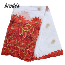 Bufanda de algodón de alta calidad para mujer, bufandas africanas con diseño de entramado, hiyab, chales