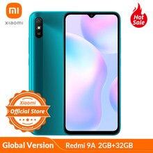 "Globale Version Xiaomi Redmi 9A 2GB 32GB Smartphone 5000mAh Große Batterie MTK Helio G25 Octa-core 6.53 ""HD + display 13MP AI Kamera"