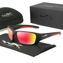 Wiley x 2021 nova marca esportes óculos de sol dos homens hd polarizado tr90 quadrado quadro reflexivo revestimento espelho lente uv400