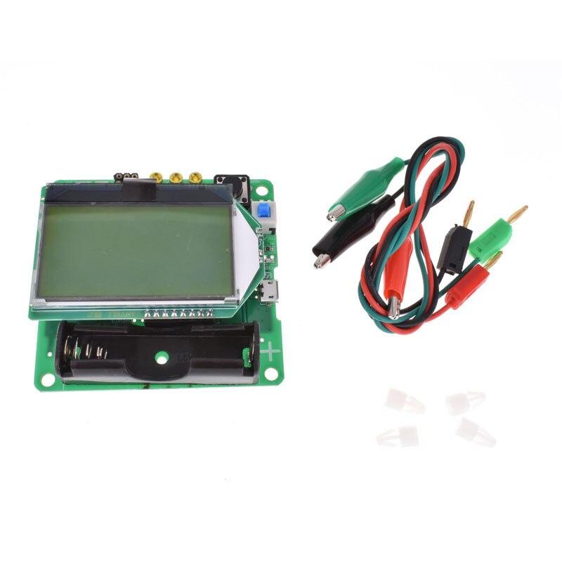 Newest 3.7V version of inductor-capacitor ESR meter DIY MG328 multifunction test