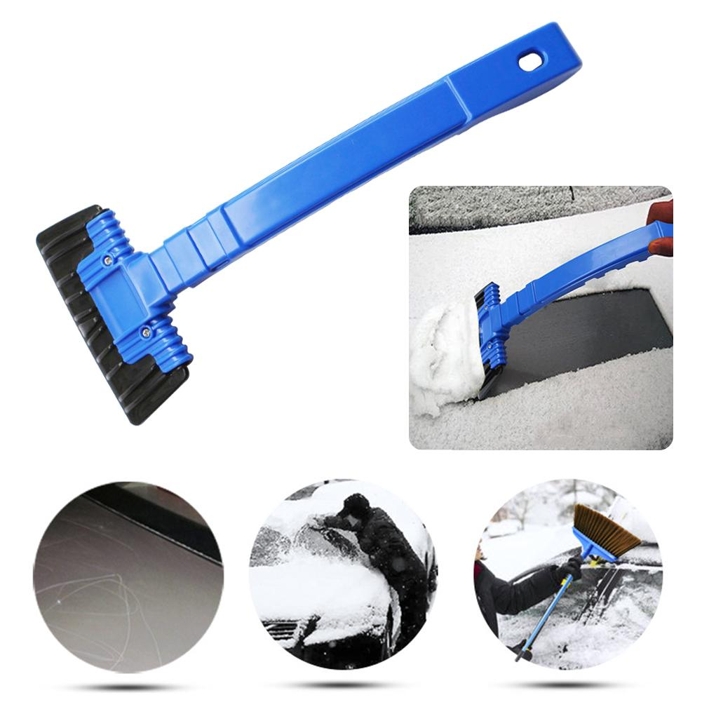 Fast Deliver Multifunction Portable Car Windshield Ice Scraper Snow Shovel Removal Brush Car Windscreen Wiper Plate Clean Tools