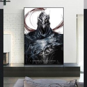Juego de pintura Dark Souls 3 póster de pared arte lienzo impresión abstracta cuadro decorativo para la decoración del hogar de la sala de estar