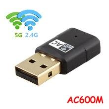 Network-Card Usb Wifi Wifi-Receiver Dual-Band 600M Wireless Mini Transmitter