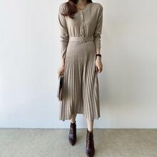 Женские платья элегантное универсальное вязаное и однотонное