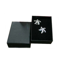 HIGH QUALITY! Free shipping Wholesal 30pcs/lot 8.5*6.5*3.5cm black box for jewelry,necklace packaging box,jewelry gift box