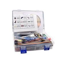 Горячая Распродажа Самый полный стартовый набор для Arduino R3 с учебником/1602 lcd/R3 плата/резистор