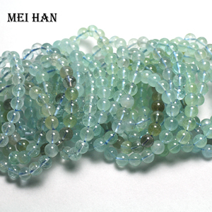 Image 2 - Natural Topazz 9 9.5mm (19 beads/set/29g) smooth round loose beads for jewelry making design precious stone diy