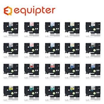 Multicolor tze label tape Compatible for Brother p-touch printers Tze231 Tze-231 12mm for Brother P Touch Tze PT Labeler