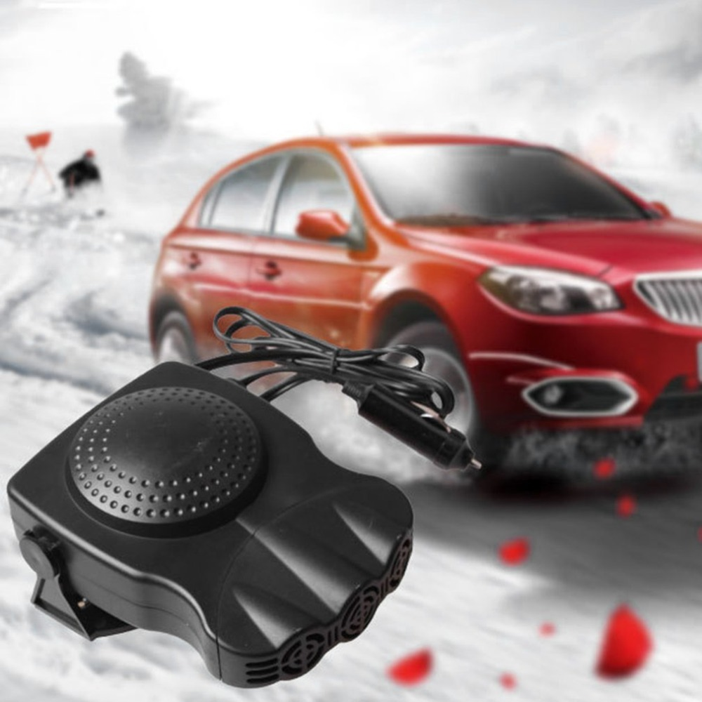 150W Car Vehicle Cooling Fan Hot Warm Heater Windscreen Demister Defroster 2 In 1 Portable Auto Car Van Heater Air Conditioners