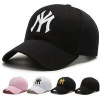 Herren New York Stickerei MEIN Baseball Caps Frauen Sommer Baumwolle Pailletten Snapback Kappe Einstellbar Outdoor Sport Hip Hop Sun dad Hut