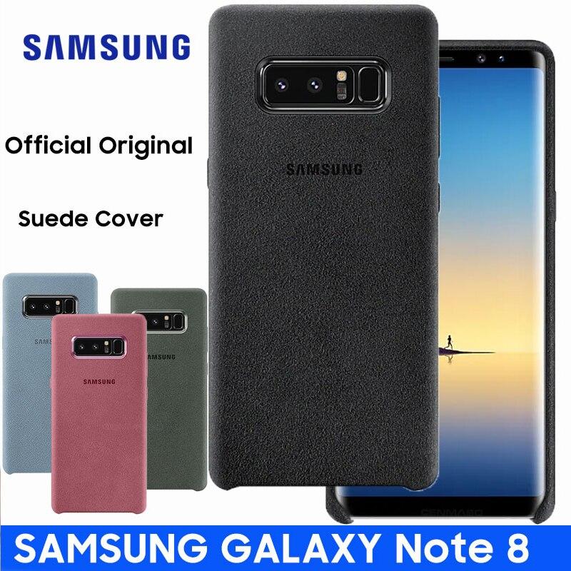 Samsung Galaxy Note 8 Case Original Official Genuine Suede Leather Protector Case Samsung Note 8 Case Galaxy Note8 SM-N950F
