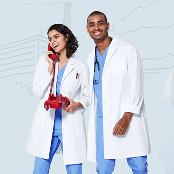 4XL Medical Lab Coats Uniforms Clothes White Coat Medical Spa Hospital Gown Lab Coat Nurse Scrub Uniform Pharmacy Veterinary
