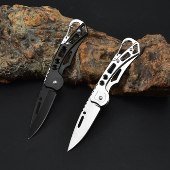 Stainless Steel Self-defense Folding Knife Hunting Camping Multifunctional High Hardness Military Survival Outdoor Fruit Knife stainless steel self defense folding knife hunting camping multifunctional high hardness military survival outdoor fruit knife