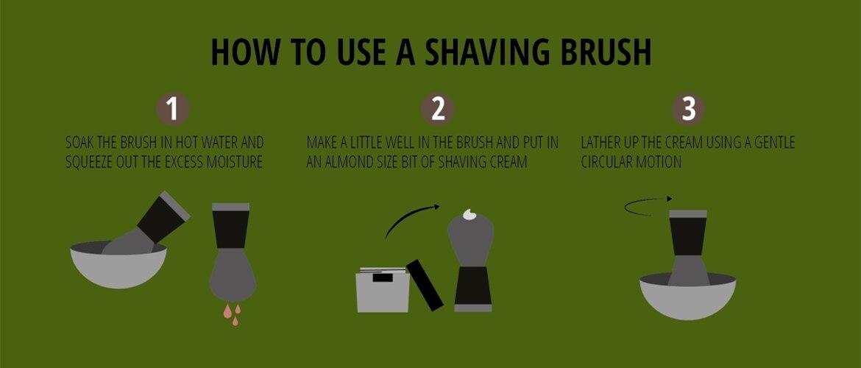 texugo escova de barbear + tigela de