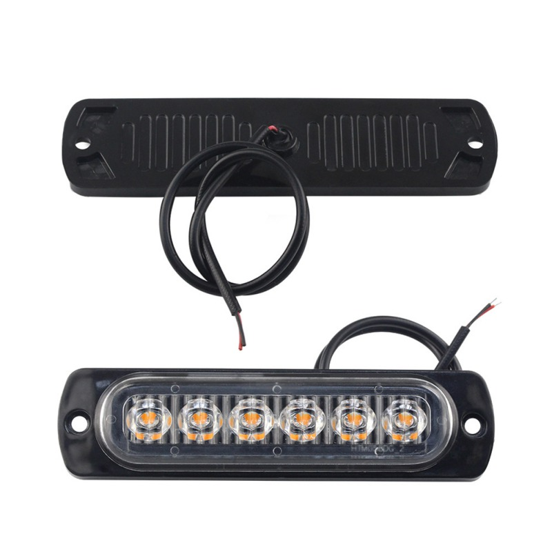 12 volt SUPER BRIGHT AMBER windscreen RECOVERY STROBE LED LIGHTS ORANGE FLASHING
