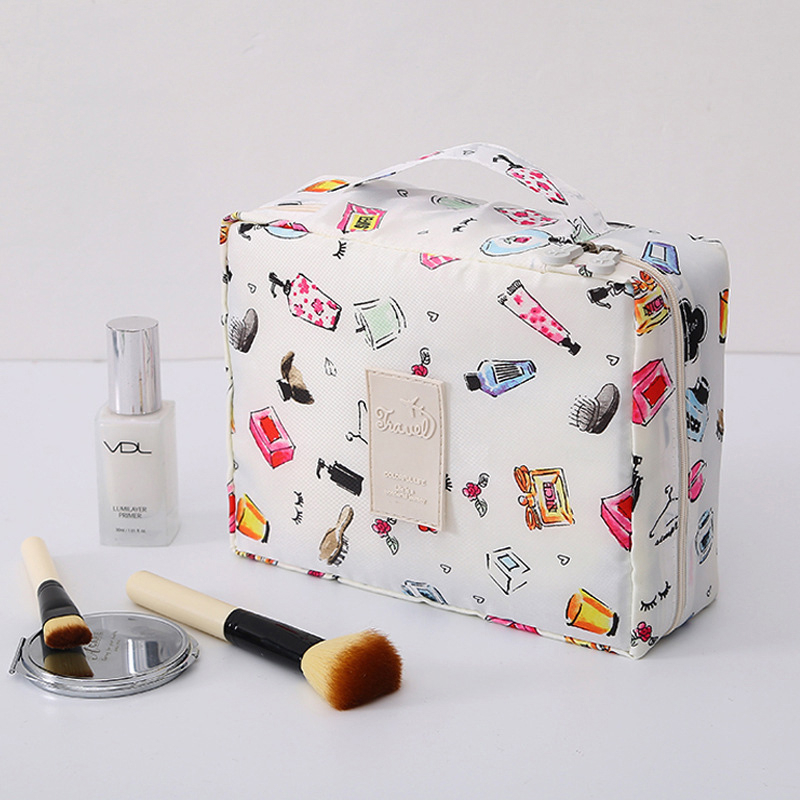 Multifunction Travel Cosmetic Bag Women Travel Carry On Neceser Makeup Bags Toiletries Organizer Waterproof Female Toiletry Kit