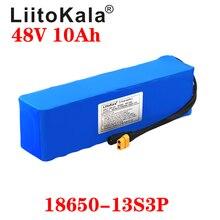 LiitoKala 48V 10ah 13s3p High Power 18650 Battery Electric Vehicle Electric Motorcycle DIY Battery BMS Protection XT60 Plug