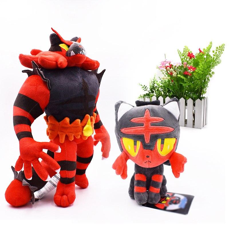 "Alola Shiny Solgaleo Pokemon Center Go Plush Toy Sun Stuffed Animal Doll Red 12/"""