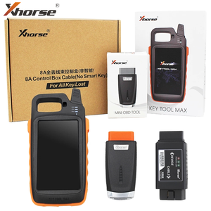 Image 4 - Xhorse VVDI Key Tool MAX Car Key Programmer with VVDI 8A Control Box Cable for Toyota 8A All Keys Lost Adapter MINI OBD Tool Kit