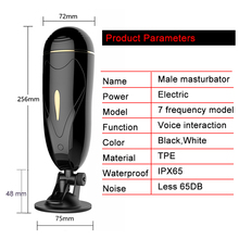 Male sex toys Artificial vagina automatic masturbator cup electric male masturbator vibrator adult Product sex pussy toy for men
