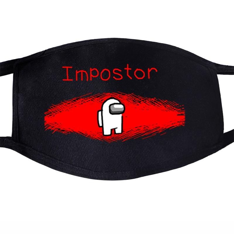 Маска для лица Impostor Crewmate с дизайном, Роскошные маски для лица для мужчин, женщин и мужчин, защита от пыли|Мужские маски-балаклавы|   | АлиЭкспресс