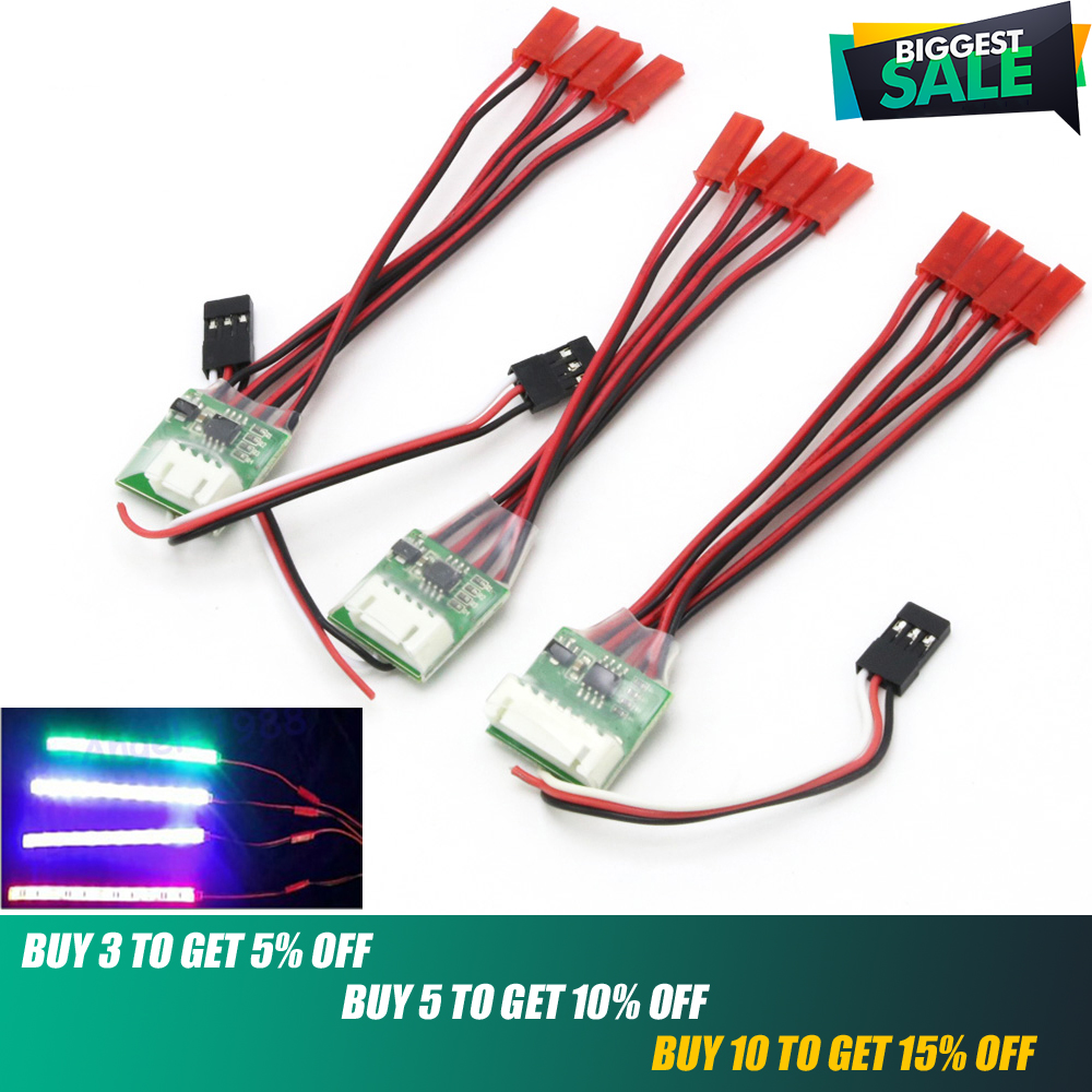 LED Strip,1pcs 3s/4s/6s RC Waterproof LED Strip Light Controller For Rc Drone/Rc Airplane