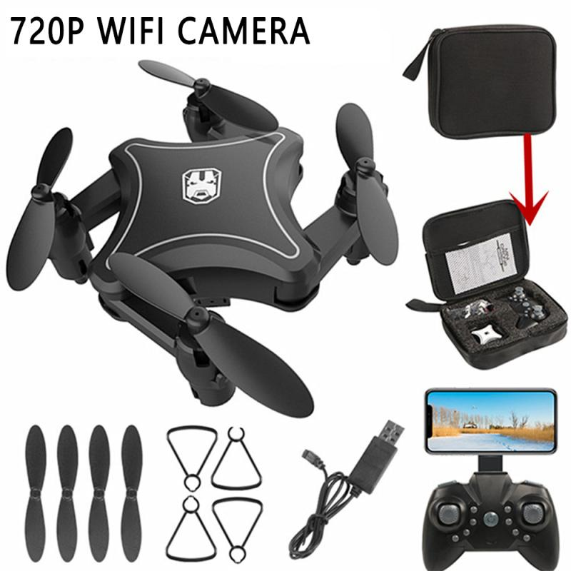 Mini Drone Ultra HD 4K Camera RC Quadcopter Micro WiFi FPV Professional Foldable Remote Control Helicopter Gifts For Kids