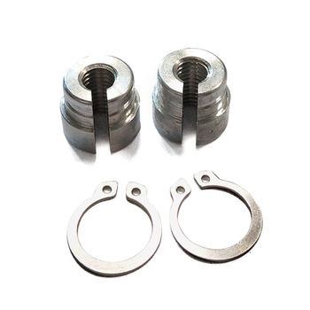 1Pc Billet Aluminum Throttle Cable Bushings For BMW E30 E34 E28 E39 E36 M20 M30 M50 S14 M60 Silver Replacement image