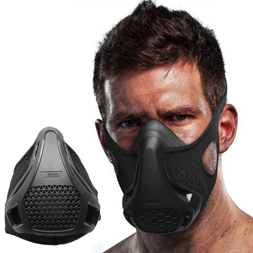 Oxygen Barrier Sports Mask Fitness Running Plateau Altitude Riding Training Mask High Altitude Mask For Aerobic Running New