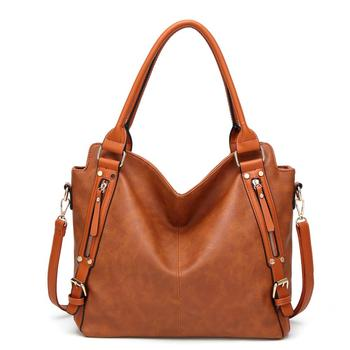 Designer Casual Tote Elegant Ladies Handbag Pu Leather Shoulder Bag Large Capacity HandBag Female Crossbody Hobos Bag фото