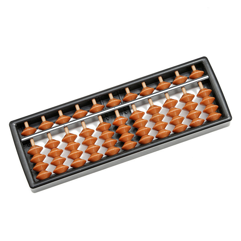 Hot 11 Digit Tool Abacus Arithmetic Kids Math Toy Plastic Learning Math Help Calculating Toys Gifts