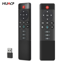 Huacp U15 2.4G Wireless Air Mouse Gyro Voice Control Learnning Program Universal Mini Keyboard Remote For Android TV Box