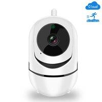 Wireless IP Camera 1080P di Sicurezza Domestica Wifi Nube SD Smart Camera Auto Tracking Visione Notturna di IR Bidirezionale Audio CCTV di Sorveglianza