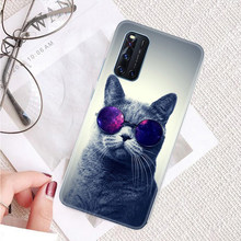 Voor Vivo V19 Neo Case Leuke Kat Clear Silicon Grappig Op V 19 Shell Telefoon Back Cover Flexibele Shockproof Dust-Proof Duurzaam Bumper(China)