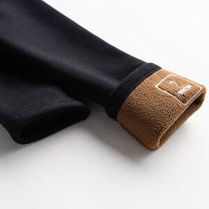 Image 5 - Hot New Nữ Ấm Áp Quần Legging Chắc Chắn Thời Trang Mùa Thu Và Mùa Đông, Độ Đàn Hồi Cao Chất Lượng Tốt Slim Nhung Dày Cotton