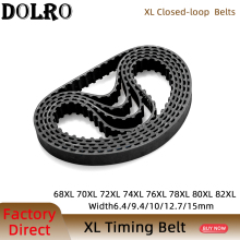 XL Timing belt 68/70/72/74/76/78/80/82 Width 6.4/9.4/10/12.7/15mm Teeth 34 35 36 37 38 39 40 41 Synchronous Belt  68XL 70XL 72XL