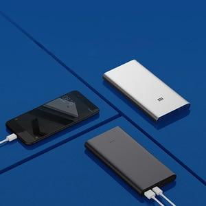 Image 5 - Xiaomi Mi Power Bank 3 10000mAh USB C Two way Quick Charge 18W Battery PLM12ZM Mijia Powerbank for iPhone XS