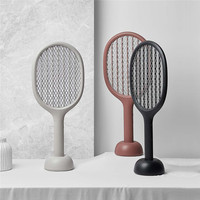 Solove 360nm luz uv tamanho duplo anti rede de choque elétrico usb carregamento mosquito dispeller inteligente elétrica mosquito swatter|Desumidificadores|Eletrodomésticos -